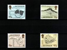 ASCENSION - 1981 - QE II - MAPS - OLD MAPS OF ASCENSION - 4 X MINT - MNH SET!
