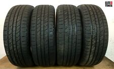 Set of 4 Full Tread Kumho Crugen Premium 225/60/R17 225 60 17 Tire - Driven Once