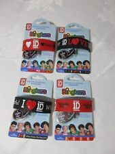 4 x ONE DIRECTION Blingkers Official Bracelet Flashing  RED Wristband New