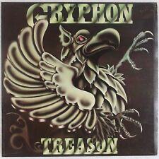 GRYPHON: Treason UK Harvest '77 Prog Rock Vinyl LP