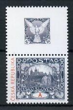 CZECH REP 2018 neuf sans charnière Prague Castle Alphonse Mucha 1 V + Label Art stamps-sur-timbres