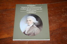 Sotheby's Catalog 18th & 19th Century British Drawings & Watercolors London 1989