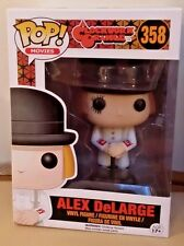 "In-Hand New Funko POP! Movies A Clockwork Orange ""Alex DeLarge"" Vinyl"