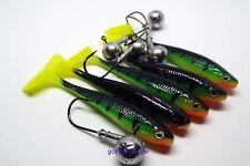 Leurres doux avec décalage de crochets kopyto-Brochet 5 cm Drop Shot Perche Zander Fishing