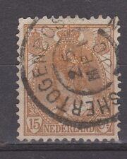 NVPH Netherlands Nederland 64 CANCEL 's HERTOGENBOSCH Wilhelmina bontkraag 1899
