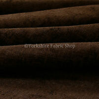 10 Metres Of Shimmer Shine Curtain Sofas Upholstery Chenille Fabric Brown Colour