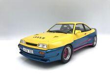 Opel Manta B Mattig 1991  gelb/blau 1:18 MCG 18095 >>NEW<<  Frei Haus* TOP PREIS