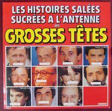 Les Grosses Têtes 33 tours Histoires salées sucrées à l'antenne 1985