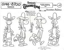 QUICK DRAW McGRAW ~ FOUR PAGES OF HANNA-BARBERA MODEL SHEETS