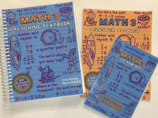 Teaching Textbooks Math 3 (2.0 Version) Complete! Text, Cds & Answer Booklet