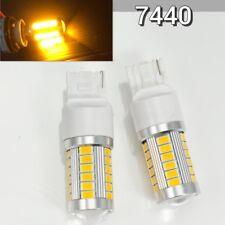 Rear Signal T20 7440 7441 12V 33SMD Amber LED Light K1 For Buick Cadillac HAK