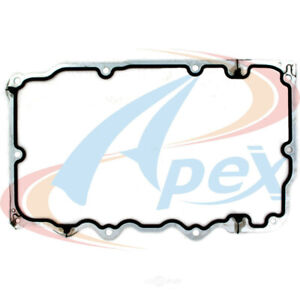 Engine Oil Pan Gasket Set-VIN: E, SOHC Lower Apex Automobile Parts AOP460