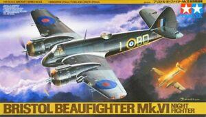 Tamiya 61064 1/48 Scale Aircraft Model Kit Bristol Type156 Beaufighter Mk.VI NF