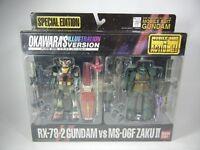 "MSIA Okawara's Special Edition ""RX-78-2 Gundam vs MS-06F ZAKUⅡ"" Figure Bandai"