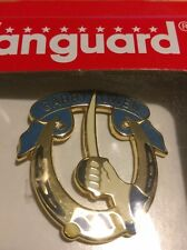 (2) SEALED IN BOX Garry Owen 7th Cavalry Pin - Army Military Hat Lapel Button