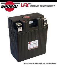 Shorai LFX Lithium Iron ATV Battery Yamaha YFM250 Bear Tracker 99-00-01-02-03-04