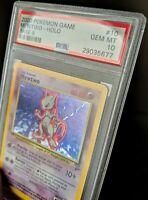 PSA 10 Base Set 2 GEM MINT Mewtwo Holo Pokemon Card POP 63 Rare