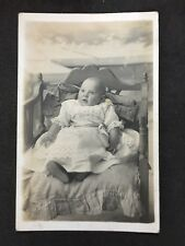 Vintage Postcard: RP Anonymous People: Child #A41 : Baby : Derby