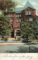 Postcard Hasbrouck Institute Jersey City New jersey Posted 1907