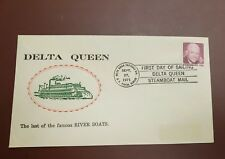 us stamps DELTA QUEEN  FIRST DAY OF SAILING 09/27/71