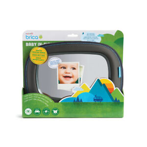 Munchkin baby In Sight Mirror For Wide-Angle View In Car Superior Reflection New