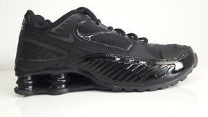 Womens Nike Shox Enigma BQ9001-001 Running Shoes Size us 6 Black Gym Red New