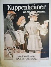 1922 Kuppenheimer good clothes black man Porter Leyendecker art ad