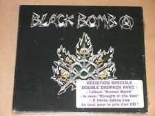 2 CD AVEC VIDEO RARES / BLACK BOMB A / STRAIGHT IN THE VEIN / NEUF SOUS CELLO