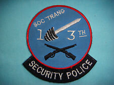 VIETNAM WAR PATCH, US 13th AVIATION BN SECURITY POLICE AT  SOC TRANG