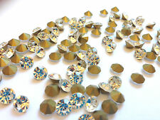 Clear Loose Rhinestones Diamontes Bling for Cakes Craft Point Back UK