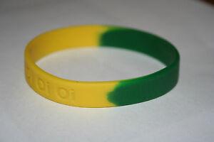 Soccer 'Aussie Oi Oi Oi' wrist band (ADULT)