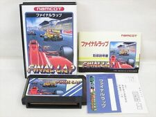 FINAL LAP Mint Condition Famicom NINTENDO fc