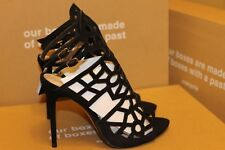 New Zara Openwork Leather Sandals Shoes Size 6.5      Second item ship for free