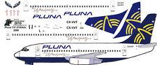 Pluna Boeing 737-200 decals for Airfix 1/144 kit