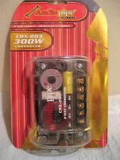 Audio Pipe Crx-203 300W 2-Way Crossover new in sealed case
