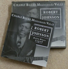 Charly Blues Masterworks Vol. 13 ROBERT JOHNSON  2 x CDs