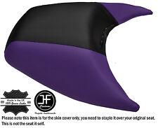 Black & purple custom fits seadoo gtx gti arrière 97-01 automotive vinyle housse de siège