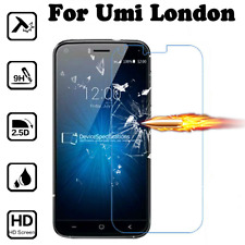 9H Premium Clear Tempered Glass Screen Protector Film Skin Cover For UMI London