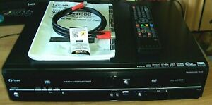 Funai VHS DVD Rekorder WD6D-D4413DB ideal für VHS Kassetten Kopierung auf DVD