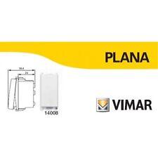 VIMAR PLANA 14008 VIMAR PLANA PULSANTE 1P NO DA 10A BIANCO