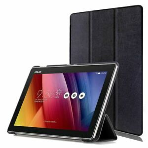 """Thin Pu Leather Case Cover + Tempered Glass for Asus ZenPad Z300 10.1"""""""