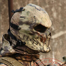Chief Full Face Mask for Paintball Cosplay Game Airsoft MetalMesh Eye Protect