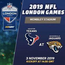 NFL Wembley London Programme - Houston Texans v Jacksonville Jaguars 2019