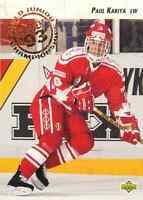 1992-93 Upper Deck World Junior Championships Paul Kariya #586 Frsca