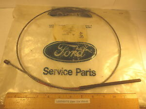 """FORD 1982/1984 LINCOLN CONTINENTAL """"CABLE"""" (PARKING BRAKE INTERMEDIATE) NOS"""