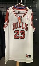 NEW Nike NBA Michael Jordan #23 Chicago Bulls White Men's Basketball Jersey