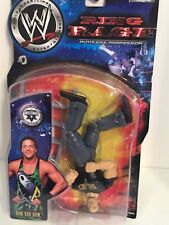 WWE RVD Rob Van Dam wrestling figure Ring Rage ECW TNA Toy Lot Of1 GFW Variant
