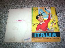 ALBUM ITALIA LA FOLGORE 1965 Q.COMPLETO (-17 FIGURINE) BELLO  NO PANINI LAMPO