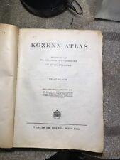 Kozenn Atlas Vintage DR  Güttenberger DR.HERMAN LEITER  53.AUFLAGE Wien 1935