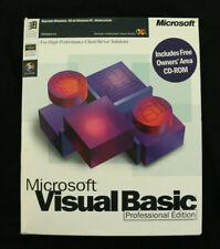 Microsoft Visual Basic 5.0 Professional Edition